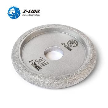 "Z-LION 4"" Coarse Diamond Segment Grinding Profile Vacuum Brazed Diamond Grinding Wheel Marble Granite Countertop Abrasive R7"
