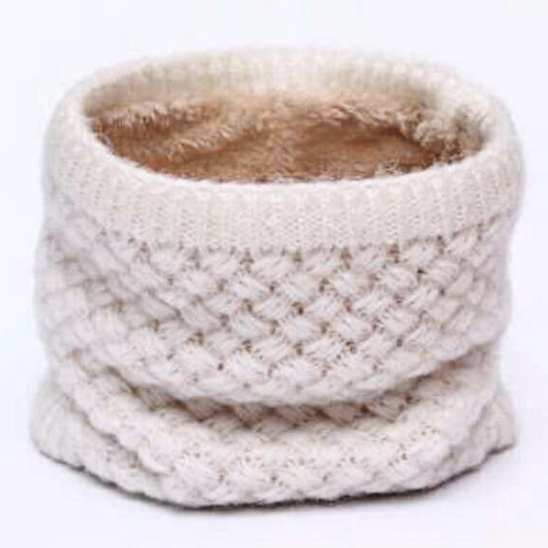 Aliexpress.com: Comprar Invierno cuello calentador O anillo bufanda ...