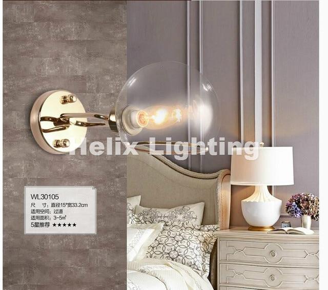 Nordic Goldene Moderne Wandleuchte Schlafzimmer küche Spiegel Licht ...