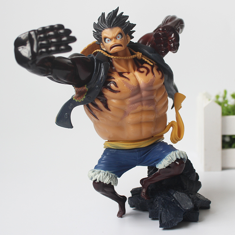 17CM Anime One Piece Gear New Fourth Monkey D Luffy 4 PVC Action Figure Heroes Model цена