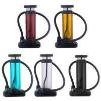 Mini Portable High-strength Plastic Bicycle Air Pump Bike Tire Inflator Super Light Accessories MTB Road Bike Cycling Pump