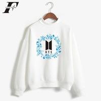 LUCKYFRIDAYF 2018 BTS Love Yourself K Pop Women Men Hoodies Sweatshirts Outwear Hip Hop Bangtan Boys
