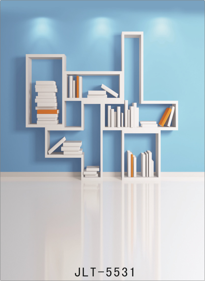 Background for Photos Indoor Blue Wall Bookshelf Computer Printed Vinyl  Photography Backdrop Photocall for Weddings Children - Online Get Cheap Child Bookshelves -Aliexpress.com Alibaba Group