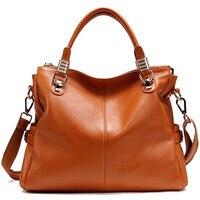2017 Winter Large Capacity Women S Tote Bag Genuine Leather Ladies Handbag Luxury Famous Brand Designer