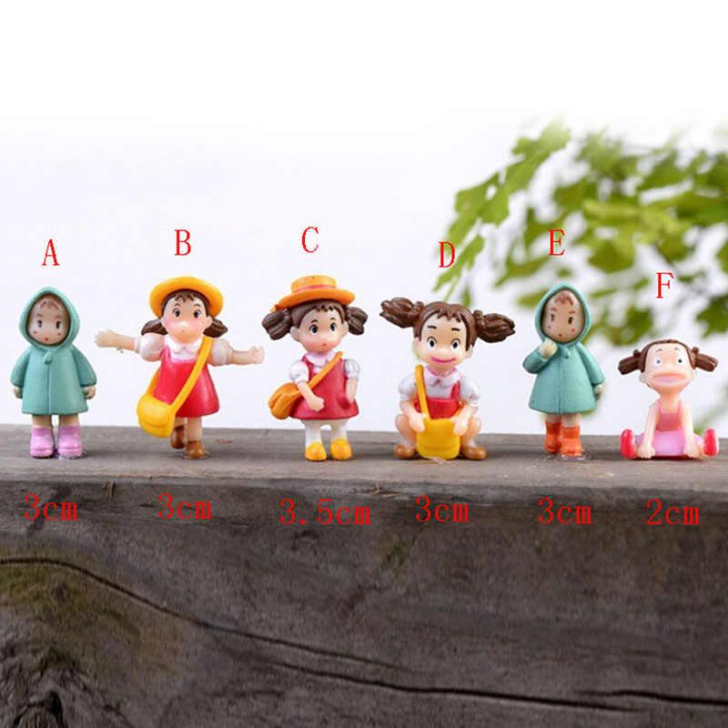 1 قطعة جديد Kawaii اليابانية لطيف أنيمي دمى أشكال جارتي توتورو عمل الشكل هاياو ميازاكي فيلم مصغرة التماثيل اللعب