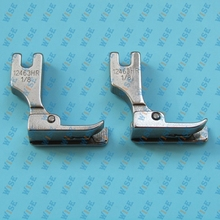 Hinged Right Raising Presser Foot With Guide for Top Stitch 12463H 1 32 2PCS
