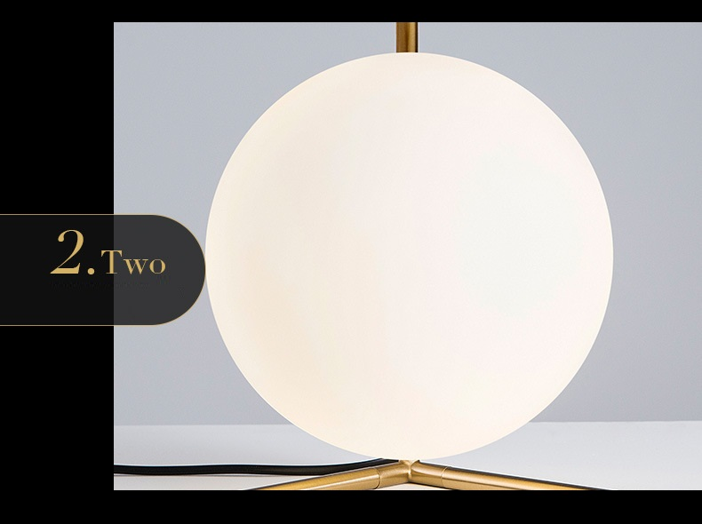 Modern LED Table Lamp Desk Lamp Light Shade Glass Ball Table Lamp Desk Light for Bedroom Living Room Floor Conner Gold Designs (8)