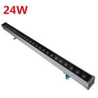 24W Led Wall Washer Lights DC24V /DC 12V AC100 265V IP65 Waterproof RGB / Red/ Blue/Green/Yellow/White/Warm White