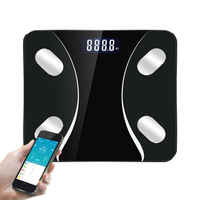 25 body data Smart Bathroom Weight Scale Electronic Floor Scales Human Body Fat Weegschaal Mi Body Composition Scale Bluetooth