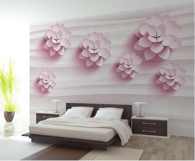 Benutzerdefinierte 3d mural wand papier dreidimensionale große mural ...
