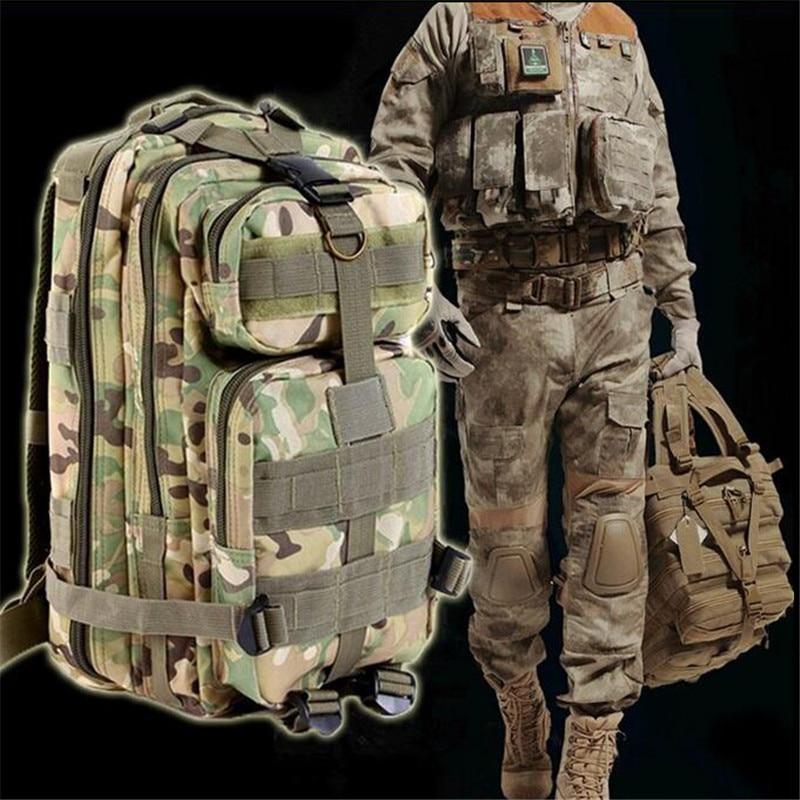 Nueva 3 P Al Aire Libre Militar Del Ejército Táctico CAZA Mochila Oxford Deporte