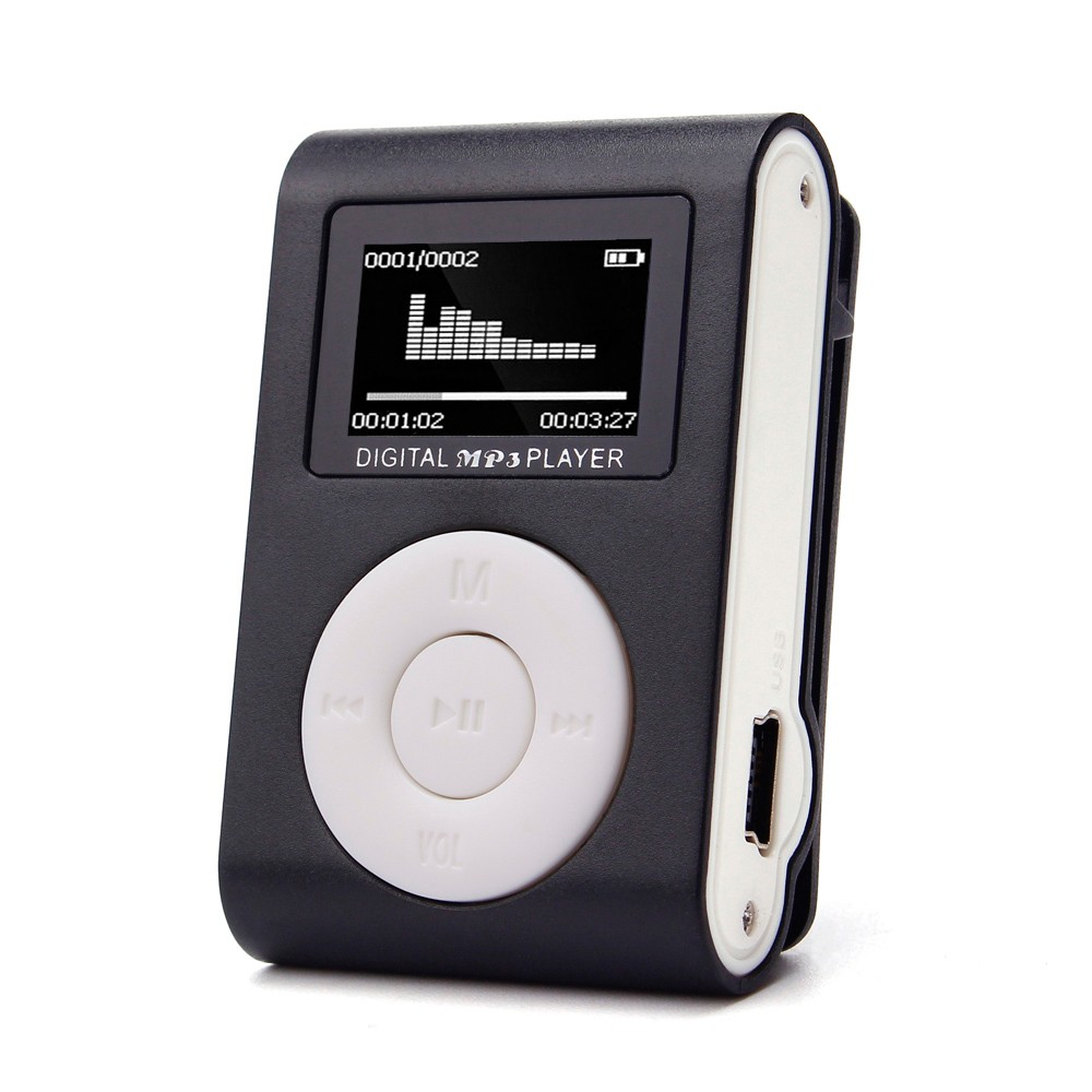 HIPERDEAL 2019 MP3 Player Mini Music Media Clip Player Portable LCD Screen USB Support Micro SD TF Card Walkman Lettore D30 Jan9