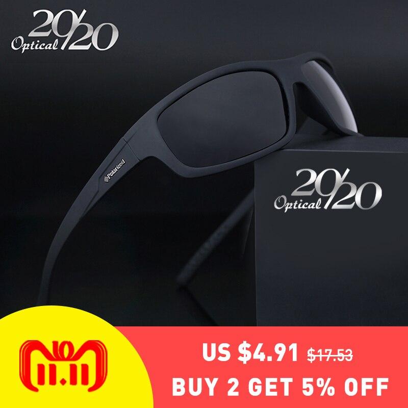 20/20 Optical Brand 2018 New Polarized Sunglasses Men Fashion Male Eyewear Sun Glasses Travel Oculos Gafas De Sol PL66 стоимость