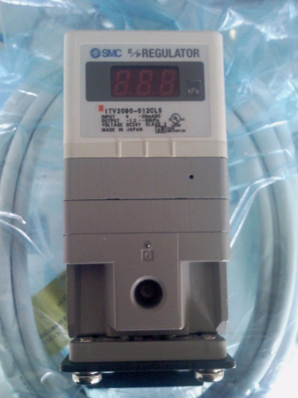 BRAND NEW JAPAN SMC GENUINE E / P REGULATOR ITV2090-312L5 brand new japan smc genuine regulator arx20 02