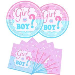 Image 5 - Детские вечерние занавески с металлическими бахромой для душа, одноразовая посуда для мальчиков и девочек, салфетки для стаканчиков