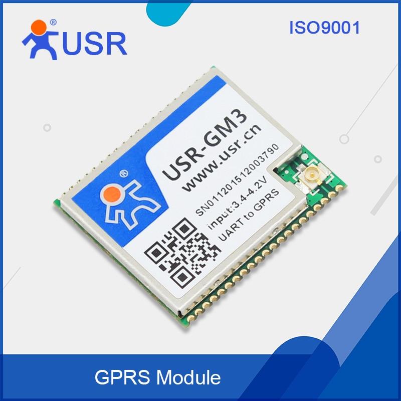 USR-GM3 Free Ship TTL UART GPRS Converter GSM GPRS Module fast free ship gprs dtu serial port turn gsm232 485 485 interface sms passthrough base station positioning usr gprs 730