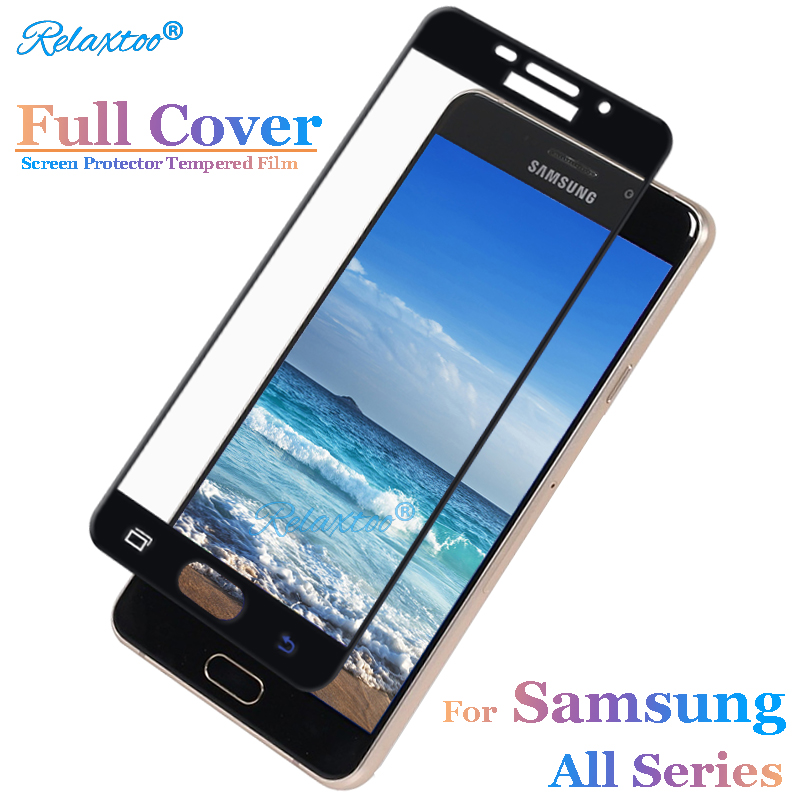 full cover Screen Protector for samsung a6 2018 sumsung a5 2017 a3 a7 a8 plus 2016 Tempered Glass sansusng protective glass film