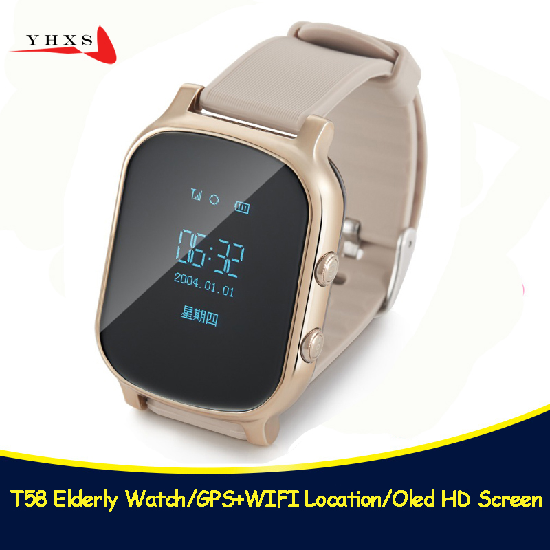 T58 Smart Kid Safe OLED Watch SOS Call GPS WIFI Location Finder Tracker for Child Elder Anti Lost Remote Monitor Baby Wristwatch new colors oled screen t58 smart gps wifi tracker locator anti lost sos remote monitor watch for kids child student wristwatch