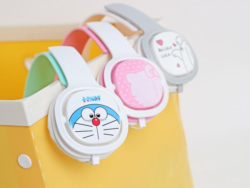Cartoon Headphones Earphones Headset Earbuds With Microphone Cute Headphones For Computer Smartphones For Children Kids Girls