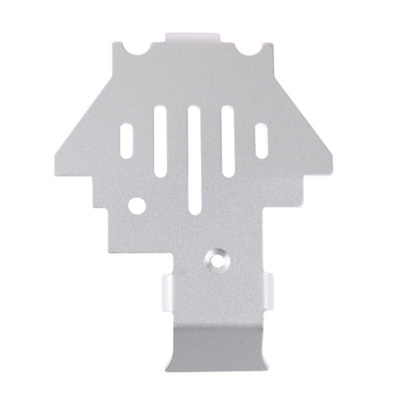 1 pc RC Voiture En Acier Inoxydable Châssis De Protection Garde Plaque Partie pour Traxxas TRX4 Pratique RC Voitures Accessoires Idéal De Noël cadeau