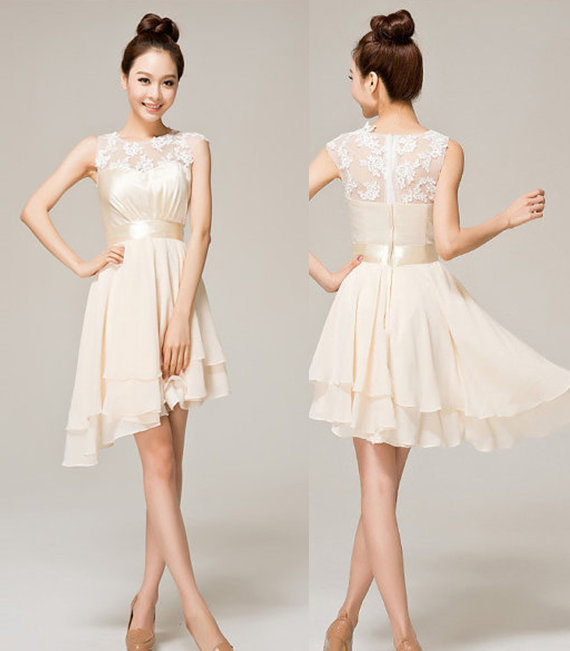 Cream Color Evening Dresses – fashion dresses