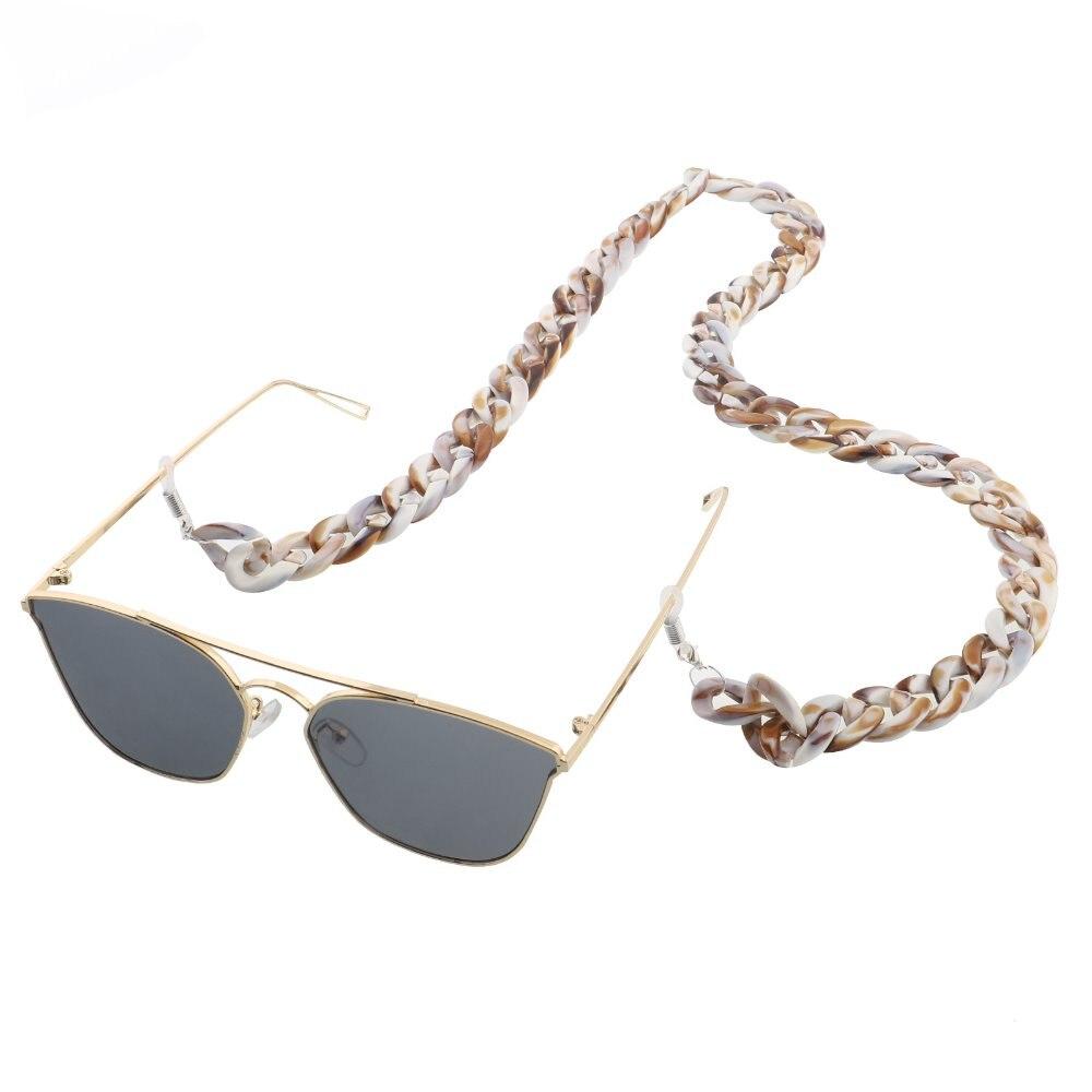 Retro Leopard Print 70cm Glasses Chain Fashion Lanyards 30g Eyewear Accessories Holder Neck Strap Rope in Eyewear Accessories from Apparel Accessories