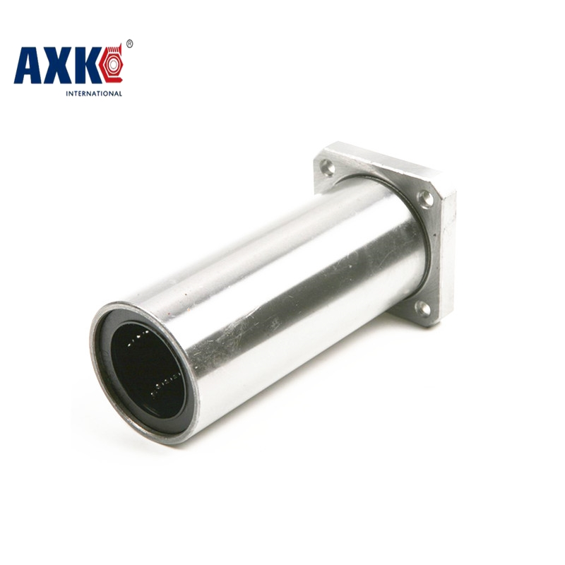 AXK Linear Rail Cnc Router Parts Axk Free Shipping Lmk10luu 10 Mm Long Square Flange Type Linear Bearing Cnc Parts 3d Printer 42l w025 free shipping long type lmk40 luu 40 60 154mm 40mm square flange long linear bearing for cnc parts