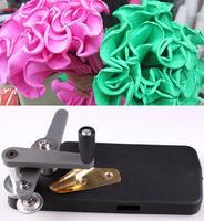 Dünne zähne blumen papiermaschine, Welle curling, krepppapier werkzeug, Blume Verpackungsmaterialien, Floristen Liefert