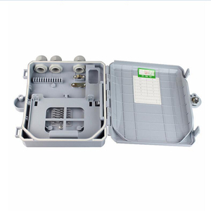 Image 5 - high quality 8 Core outdoor Fiber Optic Terminal Box 8 port Fiber Optic Distribution Box Fiber optic cable tray