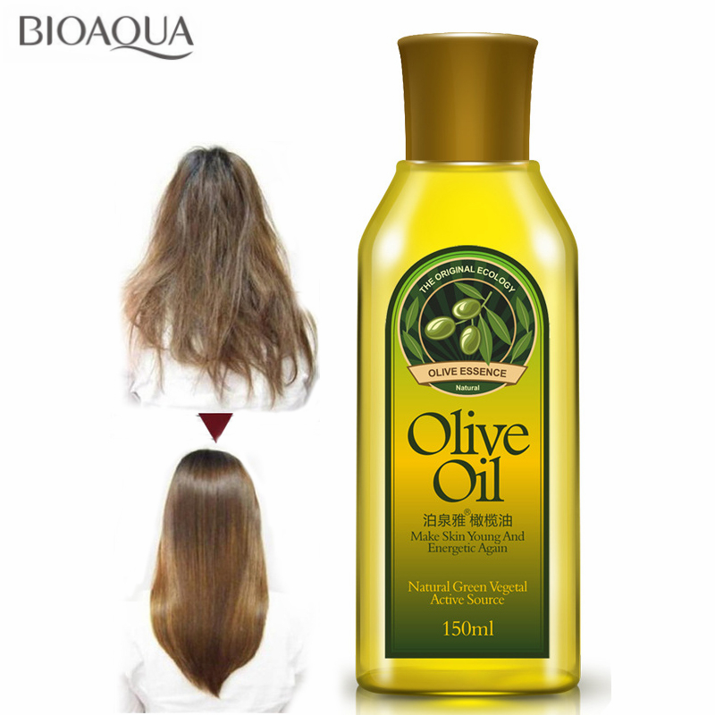 Olive Essential Oil Hair Conditioner Stretch Mark Remover Repair Skin Care Scalp Treatment Hair Care For Dry Damaged Hair 150ml