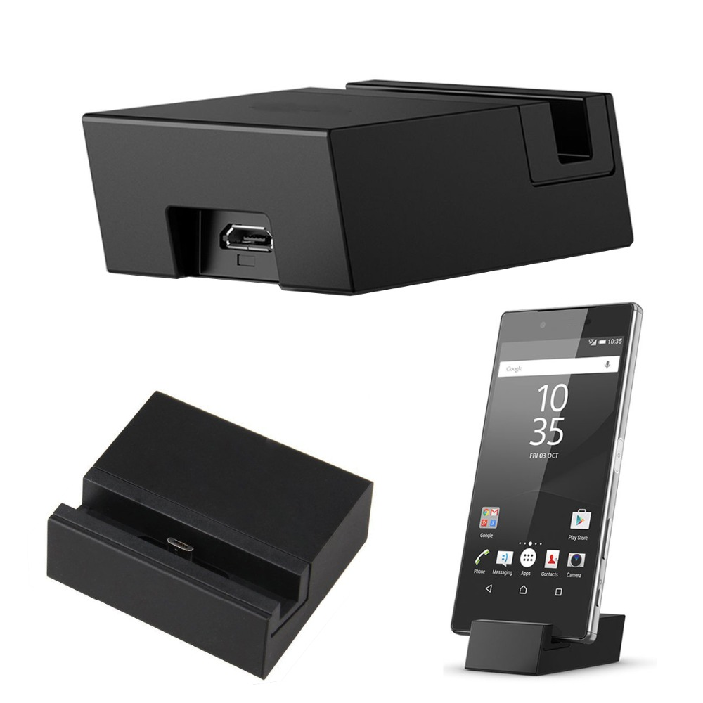 Micro USB Charging Dock Stand Charger Cradle Holder for Sony Xperia Z5 Z5 Compact Z5 Premium