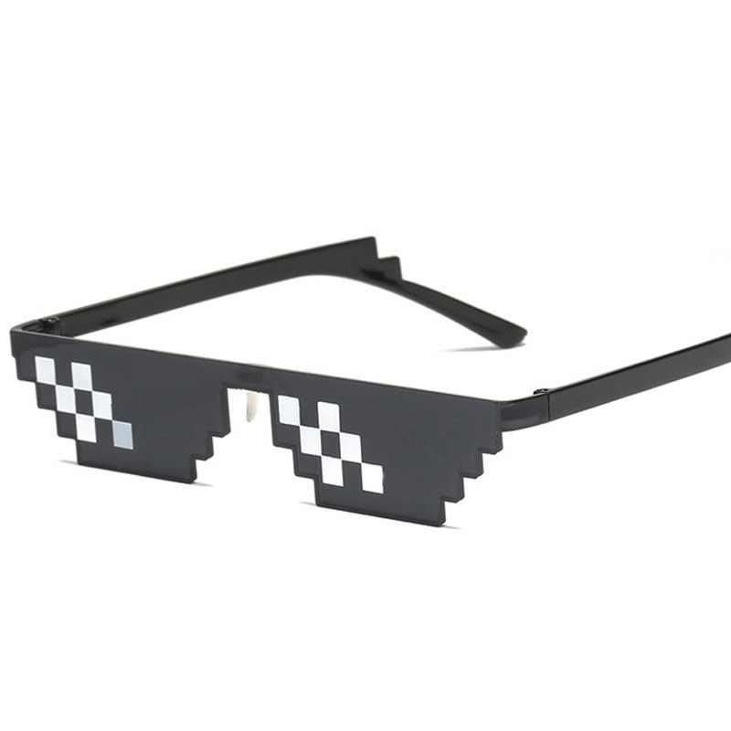 dd521270ac Detalle Comentarios Preguntas sobre Gafas de mosaico de vida de matón de 8  bits Mlg pixelada gafas de sol de las mujeres de moda Minecraft mujeres  hombres ...