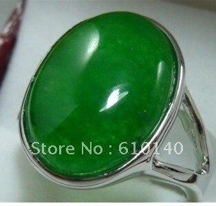 6 шт. J132-22Z красивый зеленый женская размер кольца: 7# 8# 9