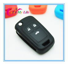 1 Piece Rubber Key Bag Cover Case For Chevrolet Cruze AVEO SAIL TRAX MALIBU CAPTIVA Opel