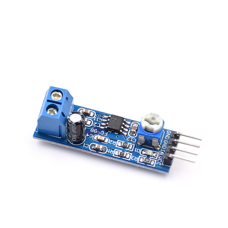 10pcs/lot LM386 Audio Amplifier Module 200 Times 5V-12V Input 10K Adjustable Resistance