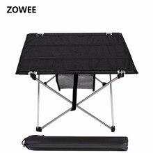 Уличный стол для кемпинга из алюминиевого сплава, водонепроницаемый ультрапрочный складной столик светильник для пикника и кемпинга