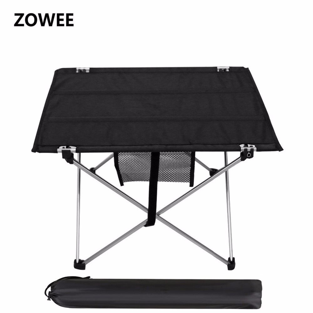 Outdoor Camping Table with Aluminium Alloy Picnic Table Waterproof Ultra-light Durable Folding Table Desk For Picnic& Camping