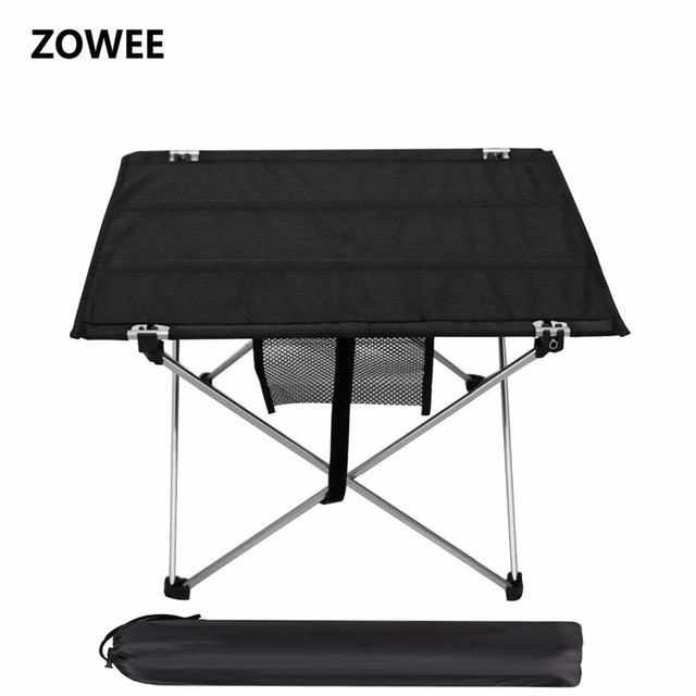 Outdoor Camping Table with Aluminium Alloy Picnic Table Waterproof Ultra light Durable Folding Table Desk For Picnic& Camping