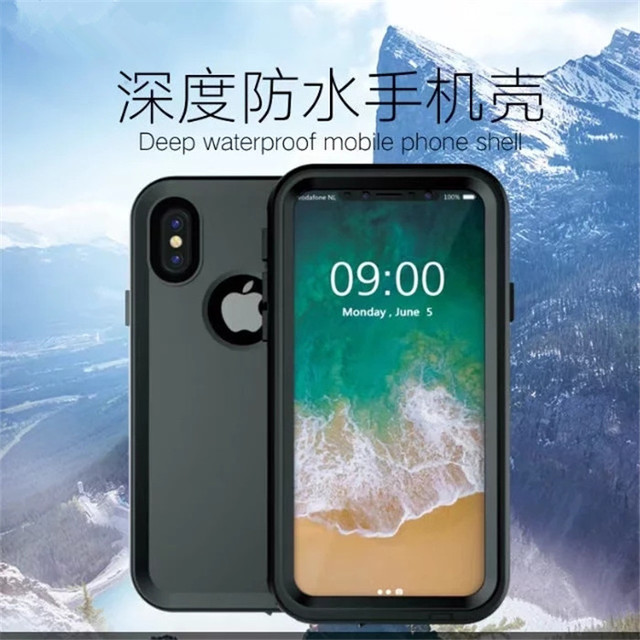 custodia subacquea per iphone x