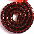 Dark red resin amber synthetic beeswax 4X7mm 5X8mm 7X10mm 12X9mm drum loose beads spacers accessories jewelry making 15inch B61