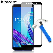 цена на Tempered Glass for ASUS ZenFone Max Pro M1 ZB602KL ZB555KL Full Screen Protector for Asus Zenfone 5 ZE620KL Protective 9H Glass