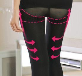 38208d7d05 ... Hot Shapers Pants For Women Shapewear Slimming Sauna Leg Shaping Effect  Slender Legs Massage Butt Lifter ...