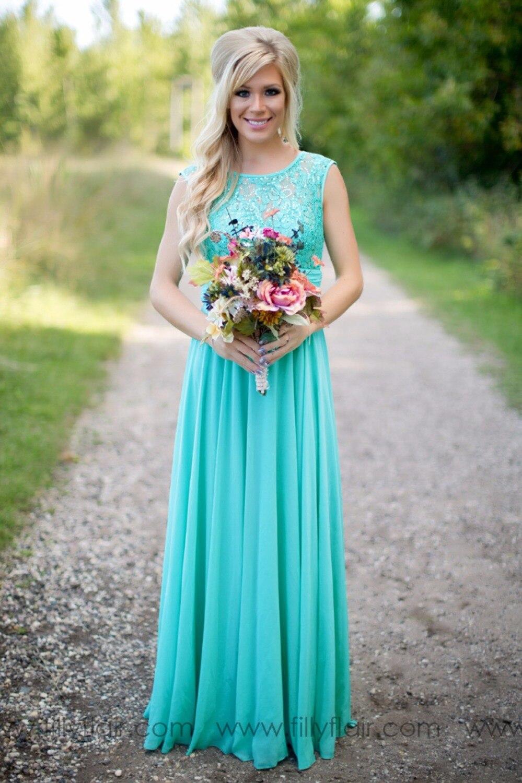 Jade Bridesmaid Dresses Outdoor Wedding | Dress images