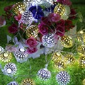 For Moroccan 20 LED String Fairy Wedding Lights Lamp Xmas Party Garden Balls Decor