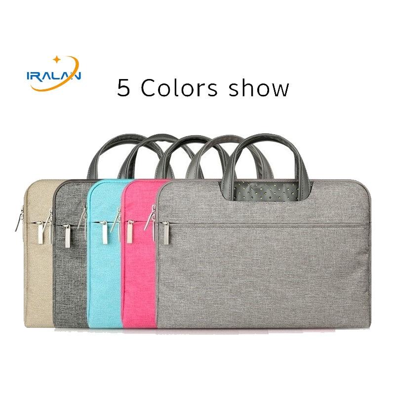 Laptop Bag Case 11.6 12 13.3 14 15 15.6inch handbag Portable Sleeve laptop bags man women cover for MacBook Pro Air 13 Notebook