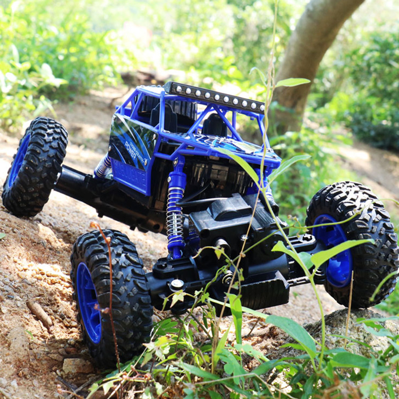 rc rock climbing car 4wd buggy toys a machine on the radio 2.4g remote control off-road cars 1:16 toys for children