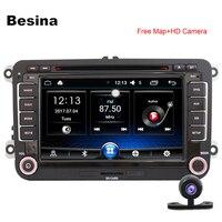 Besina Android 6 0 Car DVD Player For Volkswagen VW Golf 6 Touareg T5 Passat B6