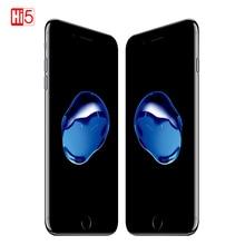ปลดล็อก Apple iPhone 7 IOS 2GB RAM 32 GB/128 GB/256 GB ROM LTE 12.0MP กล้อง Quad  Core ลายนิ้วมือเดิมโทรศัพท์มือถือ iPhone 7