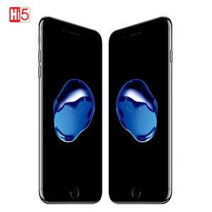 Image 1 - Desbloqueado apple iphone 7 ios 2 gb ram 32/128 gb/256 gb rom lte 12.0mp câmera quad core impressão digital telefones celulares originais iphone 7
