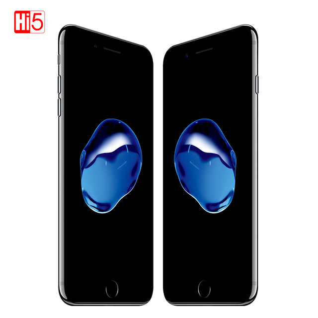 Desbloqueado apple iphone 7 ios 2 gb ram 32/128 gb/256 gb rom lte 12.0mp câmera quad core impressão digital telefones celulares originais iphone 7